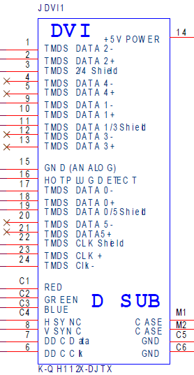 Dvi D Single Ink Diagram Wiring Diagram