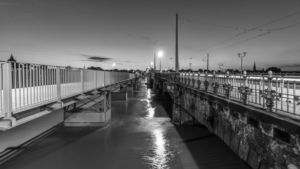 Dresden Hochwasser 2013, Albertbrücke