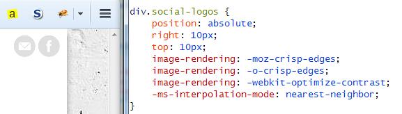 Firefox 34, PNGs downscaled to 50 %, moz-crisp-edges rendering algorithm